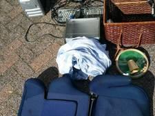 Drie mannen in Bergen op Zoom opgepakt met gestolen goederen