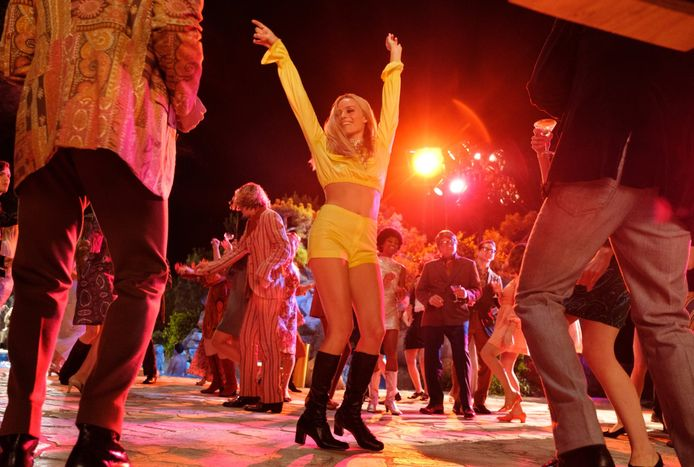 """Margot Robbie joue Sharon Tate dans """"Once Upon a Time... in Hollywood""""."""