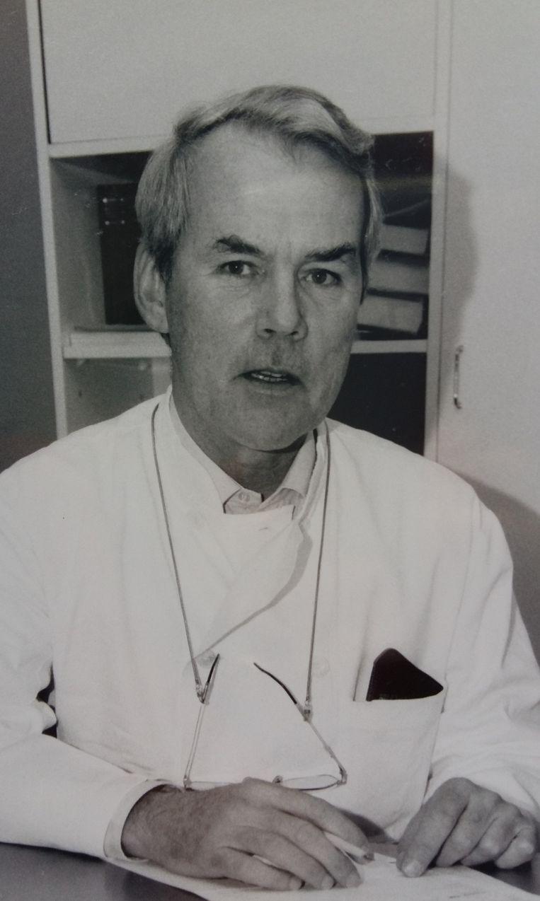 1985: hoofd chirurgie, Refaja ziekenhuis Dordrecht Beeld -