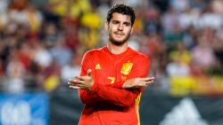 Morata en Fabregas gepasseerd door Spaanse bondscoach