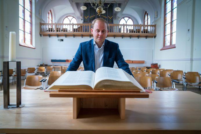 Joost Röselaers wordt predikant van de Remonstrantse Kerk in Oosterbeek. Nu werkt hij in Londen.
