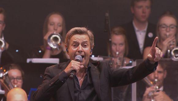 Willy Sommers vorig jaar op Pukkelpop met zijn orkest