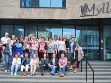 Inwoners van Mill en Boxmeer gehuldigd op de nieuwjaarsreceptie