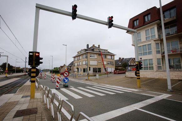 Het ongeval gebeurde in de Albert I-laan in Oostduinkerke, ter hoogte van Groenendijk.