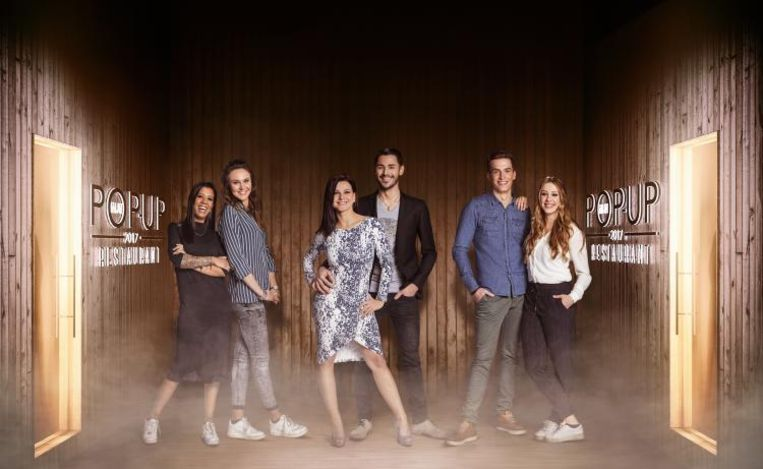 Fanny & Veronique (Filly's), Daniela & Mitchell (Table'O) , Yannick & Leena (Meat & Griet) hebben hun pop-up in Kortrijk