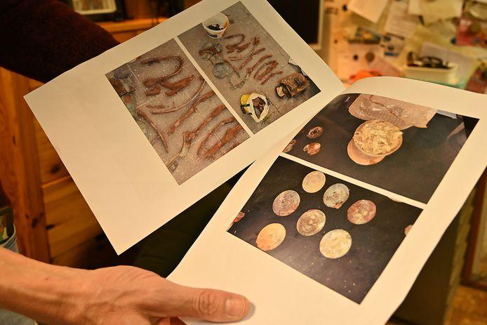 Afbeeldingen van de vondst lekten eind vorig jaar al uit in De Gelderlander.