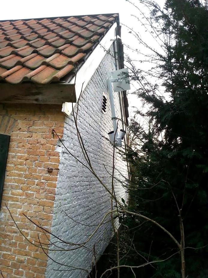 Vernielde camera's openlucht theater vrouwenhof in roosendaal FOTO Facebook Openluchttheater Vrouwenhof