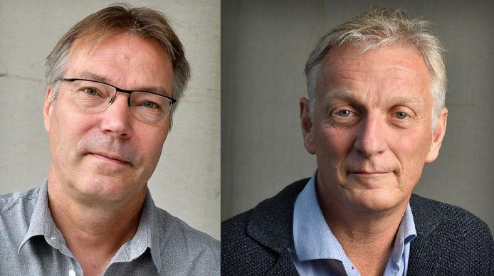 Michel Hasselerharm (links) en Rob Wissink (rechts).
