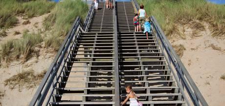 Strandtrap Westenschouwen wordt verplaatst