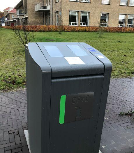 'Kleine' flats van Veenendaal nu aan de beurt voor speciale afvalzuilen etensresten