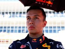 Albon ook volgend seizoen teamgenoot Verstappen