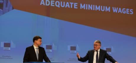 """La proposition de la Commission pour garantir des salaires minimaux """"adéquats"""" en Europe"""