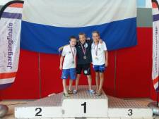 Nout Folkersma uit Vught kampioen op 100 meter rugslag