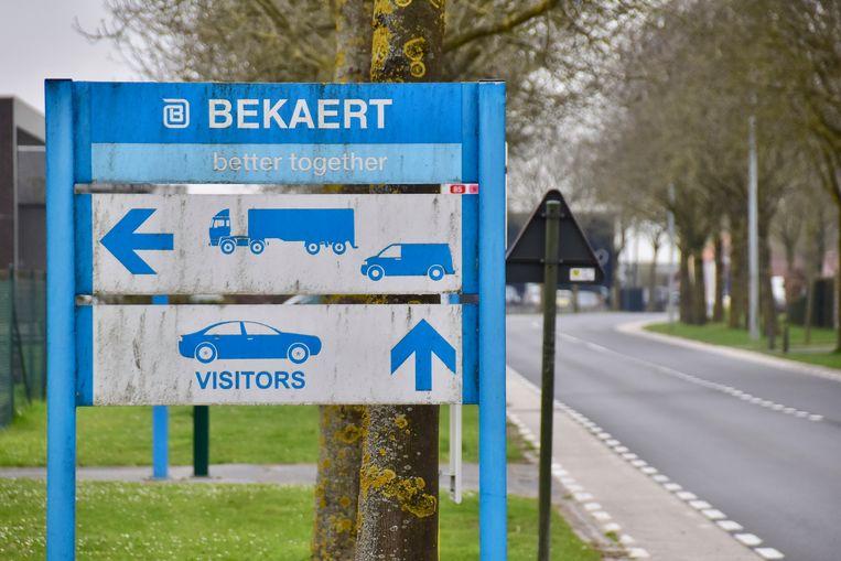 Vandaag al, werden geen vrachtwagens meer toegelaten in de vestiging Dramix in Moen, die dichtgaat.