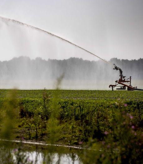Sproeien met slootwater blijft verboden in de Achterhoek, ondanks zomerstorm vol regen