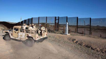 Trump stuurt gewapende soldaten naar de grens na incident met Mexicaanse militairen