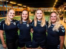 Vier vrouwen met dezelfde achternaam bij VZ&PC: 'Een Smelt hoort op waterpolo'