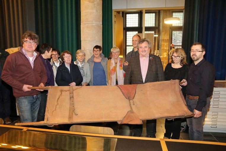Deze draagberrie uit WOI krijgt een plaatsje in het In Flanders Fields Museum (IFFM).