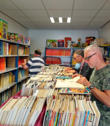 Stripgigant ziet collectie enorm groeien en verhuist naar groter pand aan Kerkstraat Oss