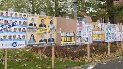 Geen verkiezingsborden meer op de openbare weg