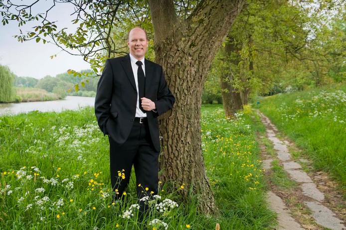 Barend Labee, gereformeerd predikant uit Veenendaal die onder meer voorgaat in diensten van de gereformeerde gemeente Arnhem.
