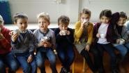 Kinderen duffelen zich in voor Dikketruiendag