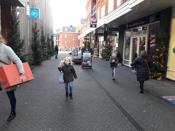 Het was rustig in een deel van Groesbeek omdat daar de Kerstmarkt niet doorging.