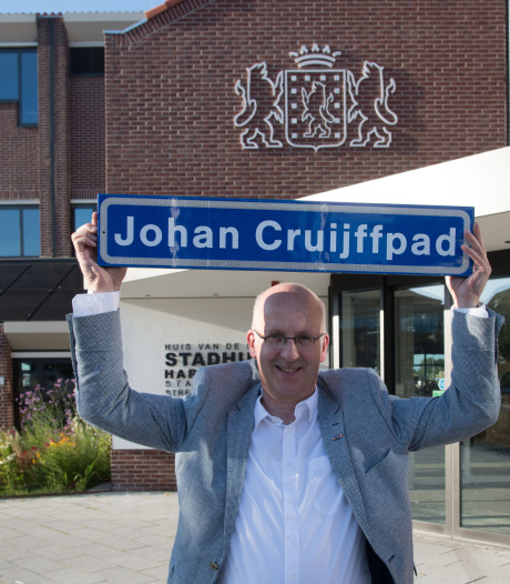Krijgt Harderwijk een Johan-Cruijffpad?