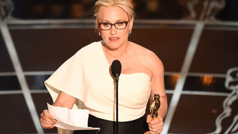 Patricia Arquette oordeelde op het Oscarpodium keihard over seksisme. Beeld afp