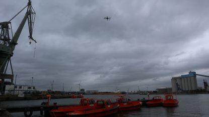 Drones speuren naar olievervuiling