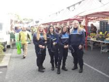 ROC-studenten helpen politie op Westermarkt in Tilburg