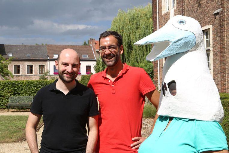 Philippe Liesenborghs en Bart Bekker willen iets moois maken van de Kweikersdag op 10 oktober.
