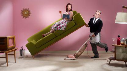 Zij strijkt, hij klust: klassieke rolverdeling in huishouden blijft