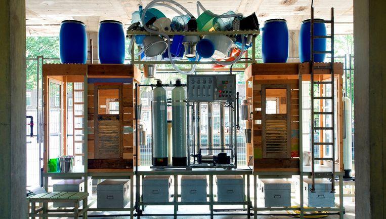OrtaWater Purification Factory. Beeld Marc de Haan