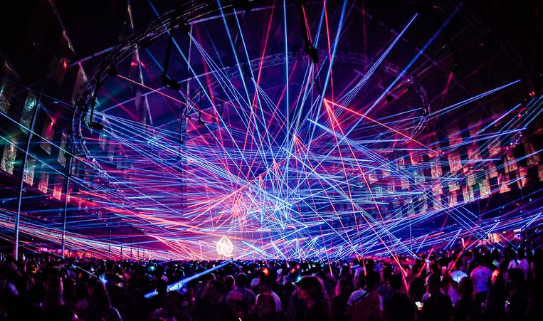 Wow! Pukkelpop verbreekt het wereldrecord lasers