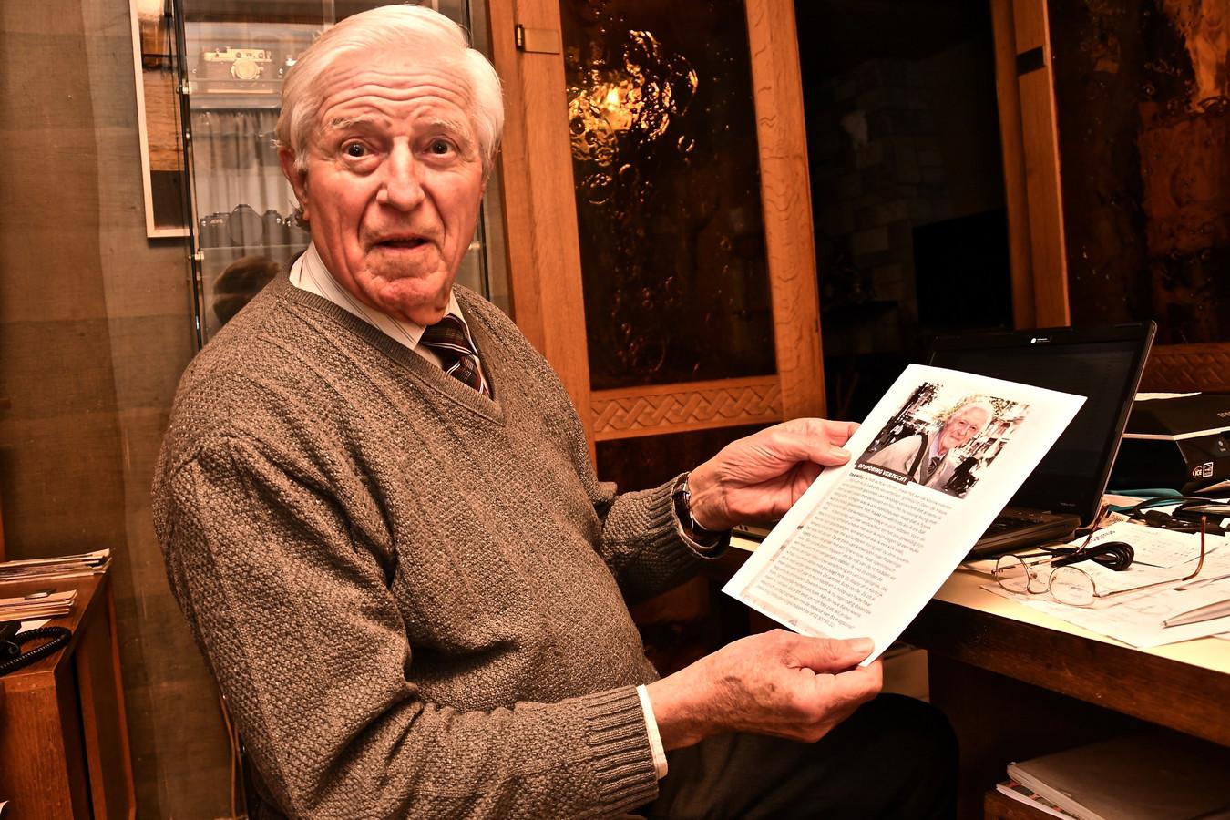 Zijn verhaal stond onder meer al in een seniorenblad. Zonder resultaat.