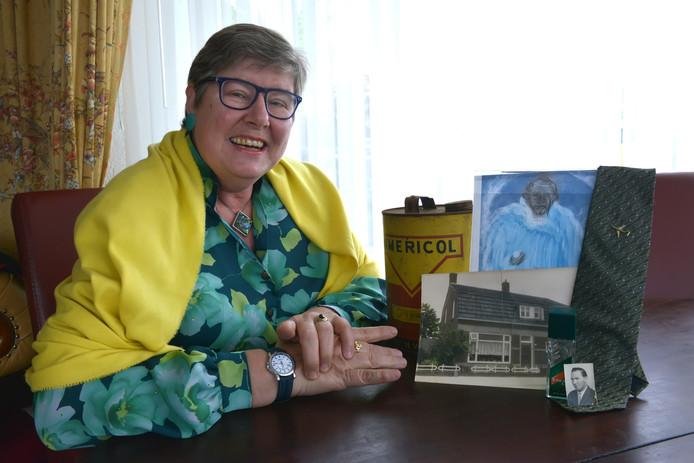 Angelette Akkermans  bewaart warme herinneringen aan haar vader – Piet Akkermans – die in juli 2011 overleed.