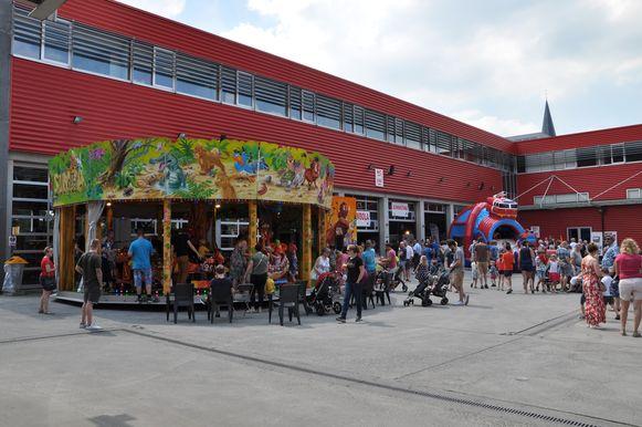 Tal van activiteiten en demonstraties op het opendeurweekend van de Gentse brandweerkazerne.