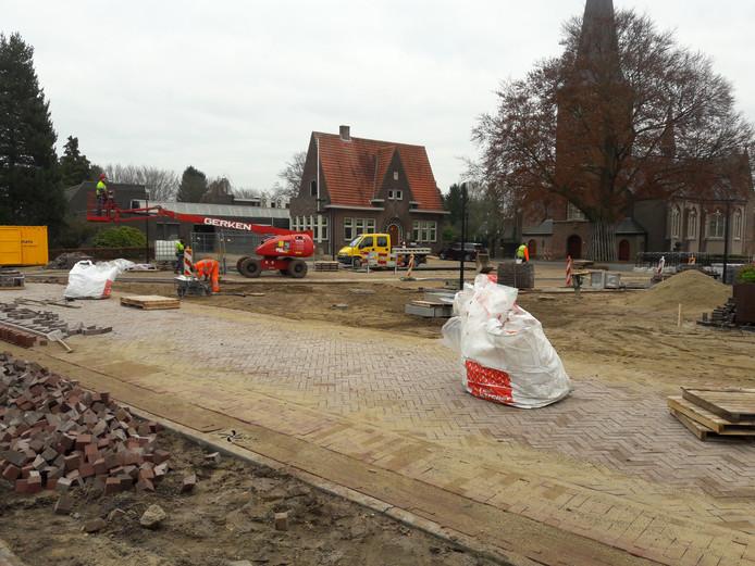 Het centrum van Riethoven. Foto Adrie Smolders