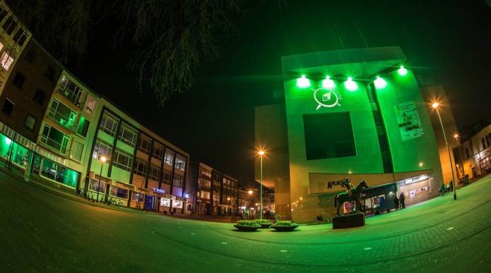 Het voormalige bankgebouw van ABN AMRO aan het Gele Rijdersplein was hoofdkwartier van Ruimtekoers 2015.