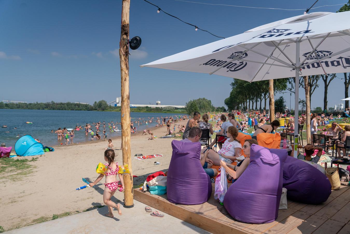 Strandvertier bij BUITEN! in Huissen. Foto: Erik van 't Hullenaar.