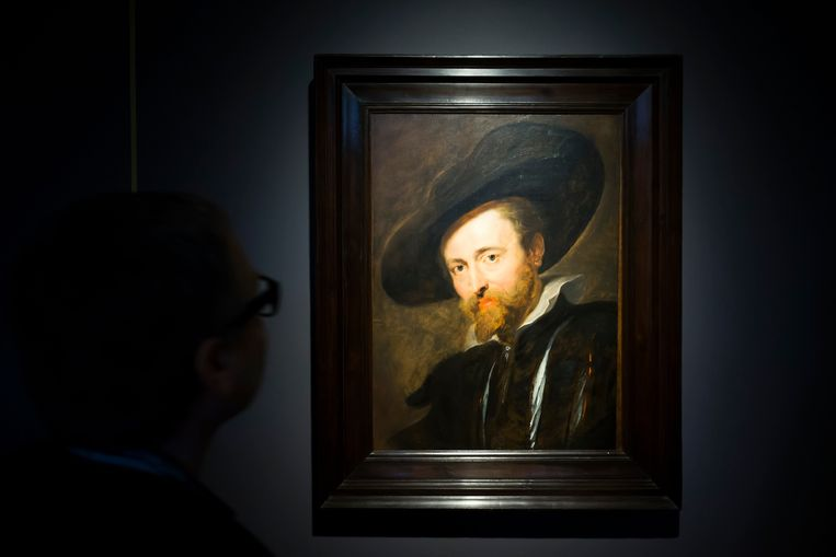 Zelfportret van barokschilder Pieter-Paul Rubens (1577-1640).