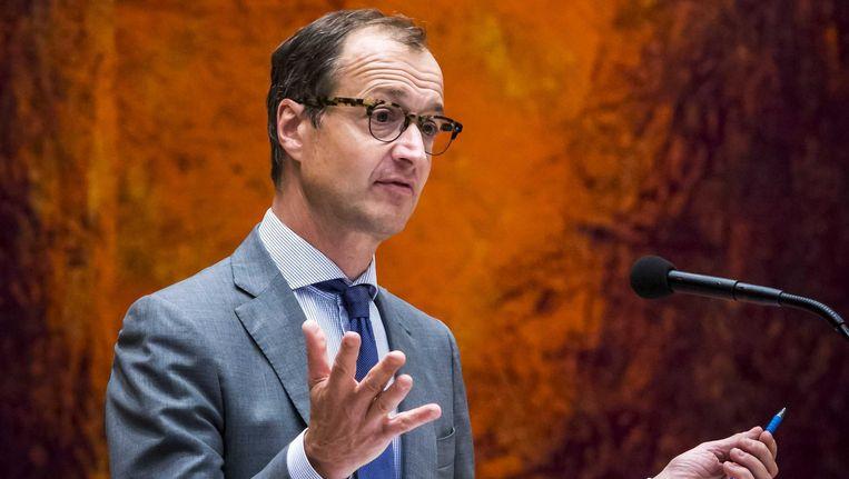 Minister Wiebes zal blij zijn dat er geen emissiebudgetten in de wet staan Beeld Lex van Lieshout/ANP