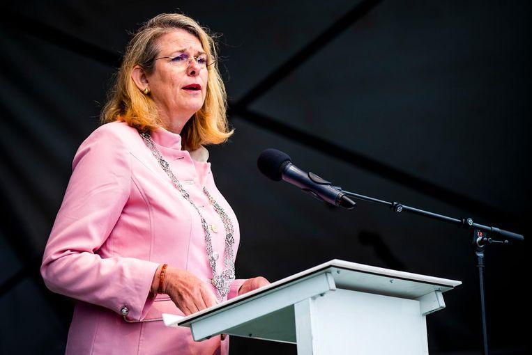 Burgemeester van Den Haag, Pauline Krikke. Beeld anp