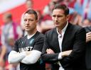 John Terry (links) en Frank Lampard.