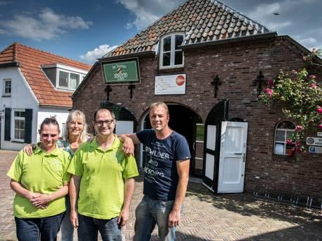 Geen werk meer door de sluiting van het theehuis in Maasbommel