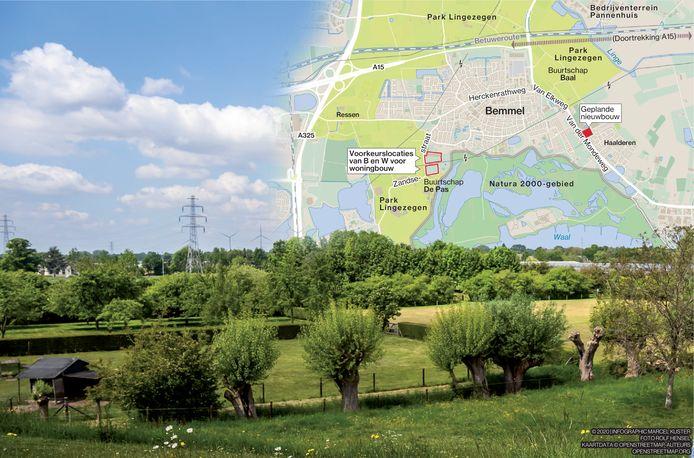 3510, infographic, Marcel, Kuster, Bemmel, De Pas, Natura2000, Lingezegen, nieuwbouw