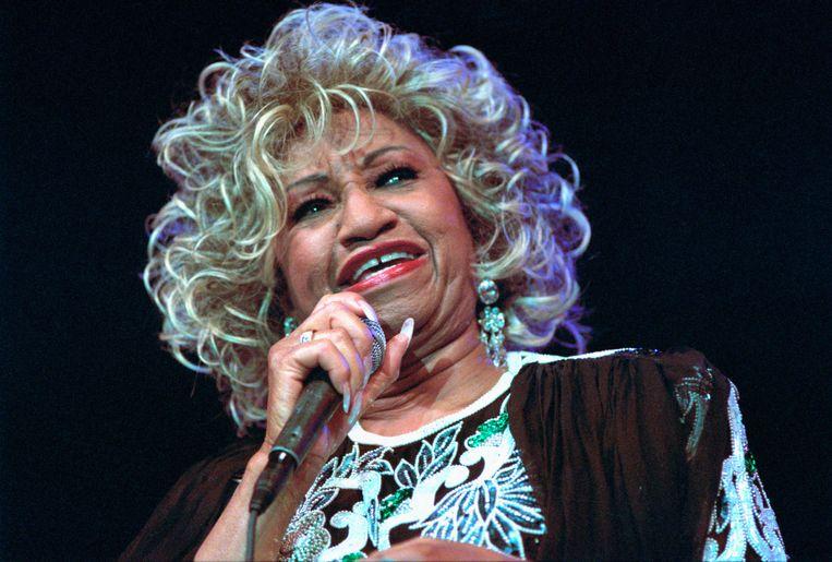 Celia Cruz. Beeld Redferns