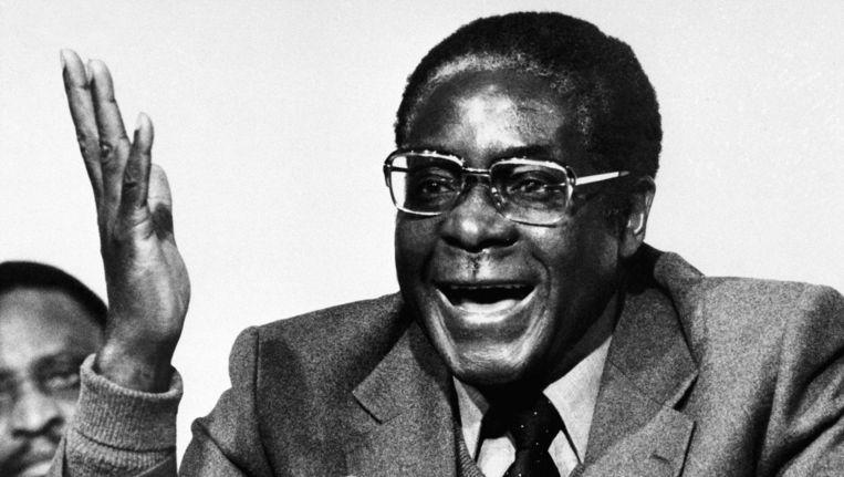 Mugabe in 1980 Beeld ap