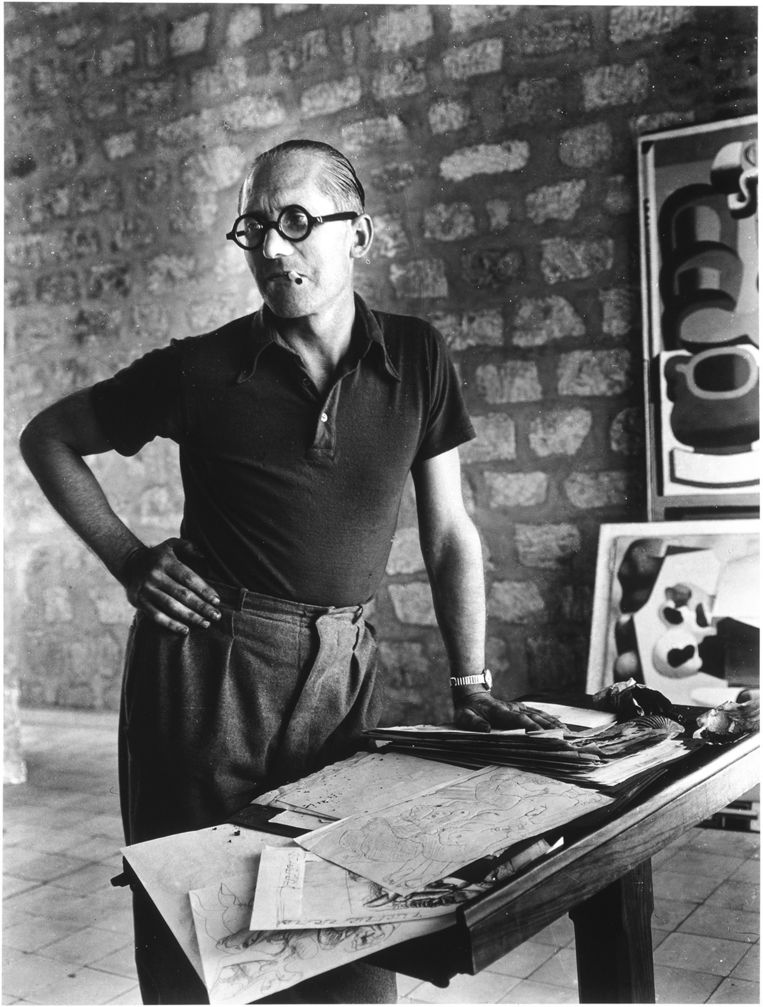 Le Corbusier. Beeld Centre Pompidou, G. Meguerditchian